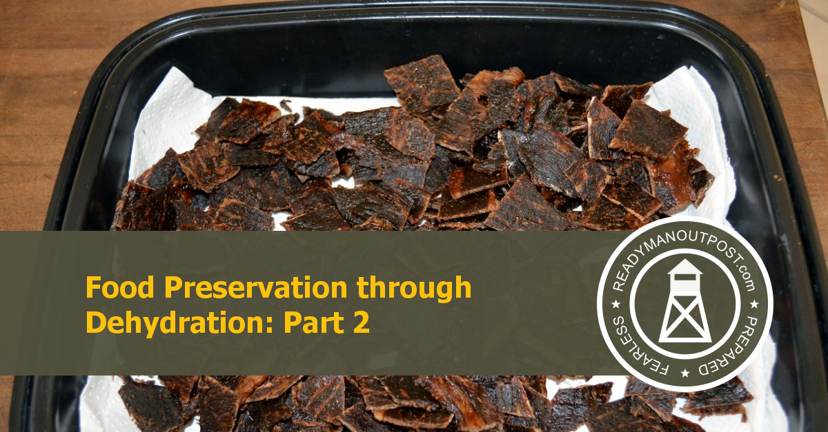 Food Preservation Through Dehydration – Part 2